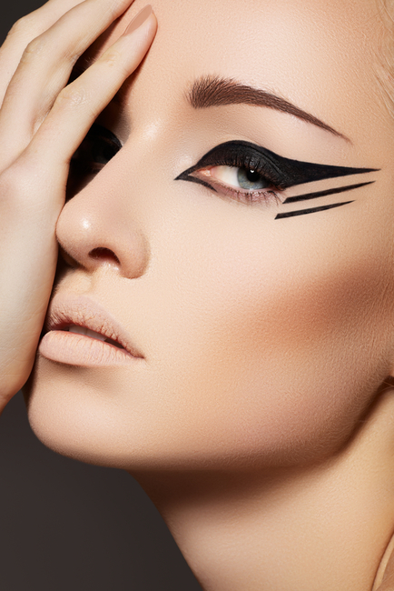 Different types of cat eye makeup